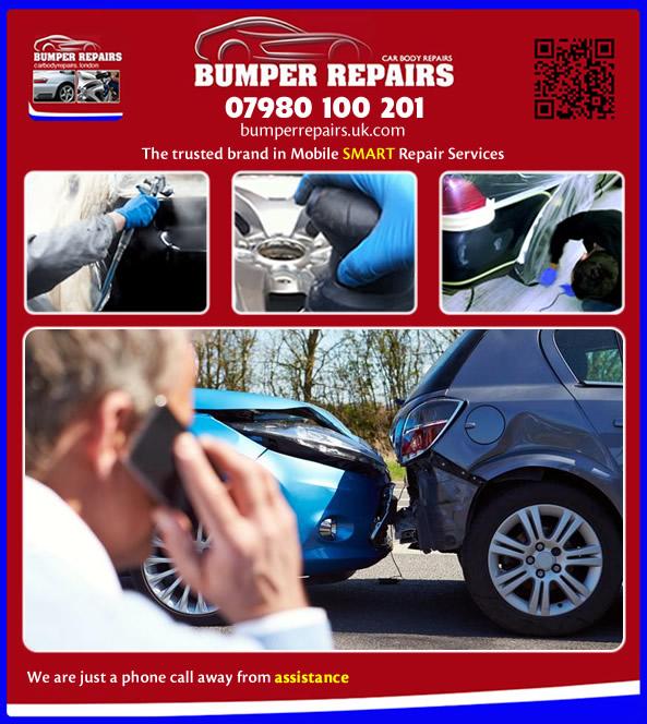 scuffed bumper repair service