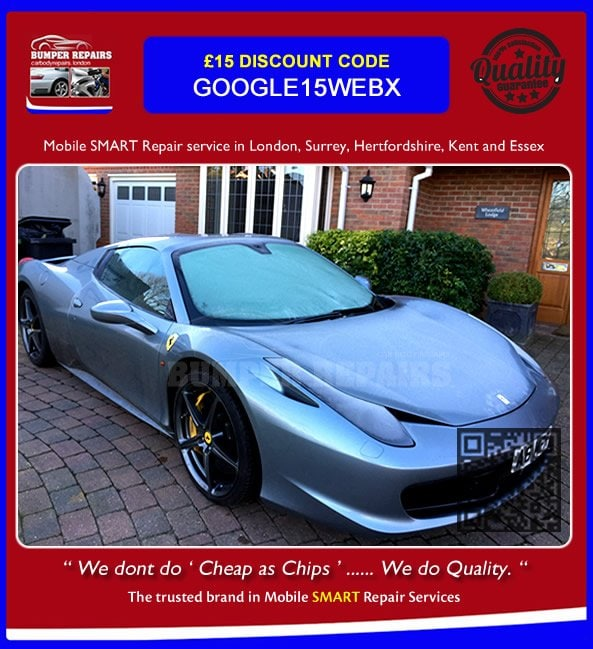 ferrari scratch repair london