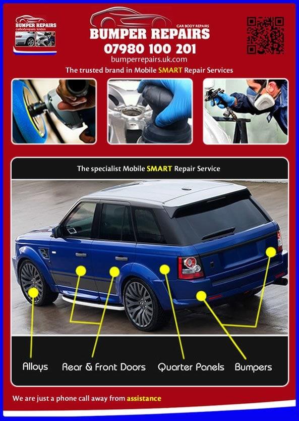 bumper repair cost
