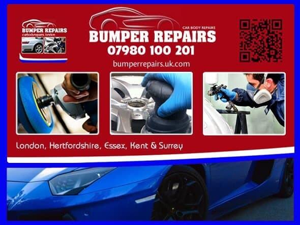 Bumper Repair - Car Scratch Repair - Dent Removal - Alloy